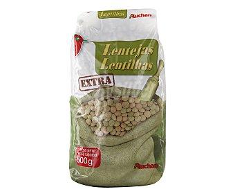 Auchan Lenteja castellana Paquete de 500 grs