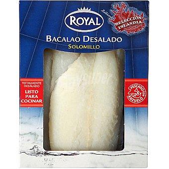 Royal Bacalao desalado solomillo listo para cocinar Envase 300 g