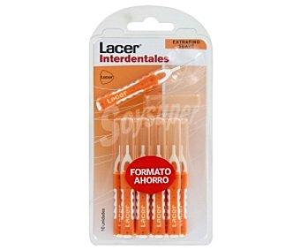 LACER Cepillos interdentales extrafinos suaves, 10 Unidades