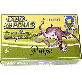 Cabo de Peñas Pulpo con aceite de oliva ecológico Lata 65 g