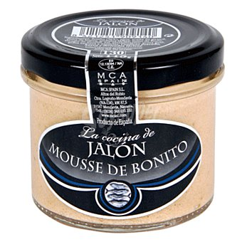 LA COCINA DE JALON Mousse de bonito tarro 115 gr Tarro 115 gr