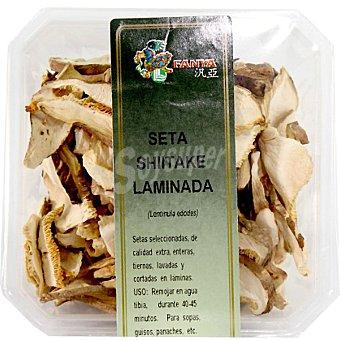 Fanya Seta shiitake laminada deshidratada Tarrina 30 g