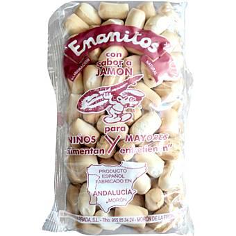 ENANITOS Colines de pan sabor jamón  bolsa 120 g