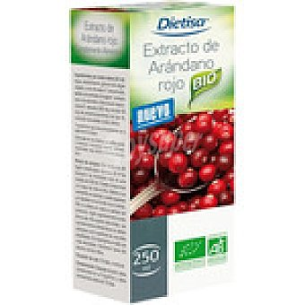 Dietisa jarabe de extracto de arándano rojo antioxidante y cuidado de las vías urinarias  envase 250 g