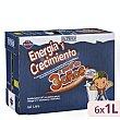 Preparado lacteo liquido infantil energia y crecimiento a partir 3 años Brick pack 6 x 1 l - 6 l Hacendado