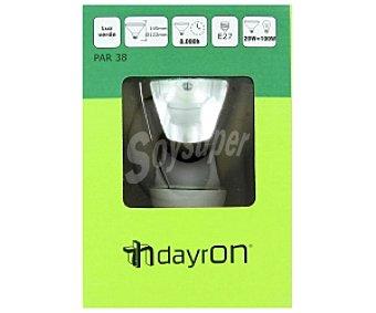 SEVENON Lámpara bajo consumo 20W E27 PAR38 Verde 1 Unidad