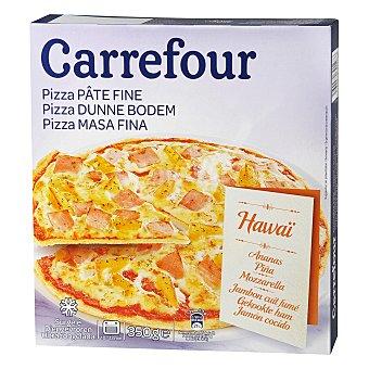 Carrefour Pizza hawaiana masa fina 340 g