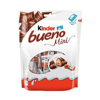 Kinder Bueno Mini barritas de chocolate con relleno cremoso de leche y avellanas 108 g