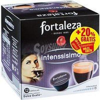 CDG FORTALEZA Café intenssisimo Caja 12 monodosis