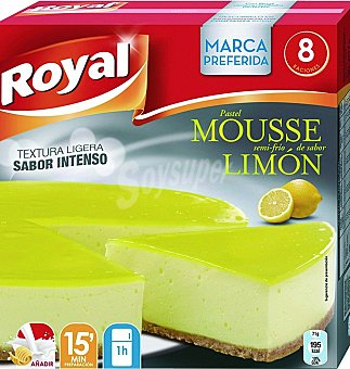 MOUSSE Pastel royal limon 207 G