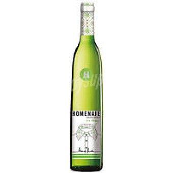 Homenaje Vino Blanco Navarra Botella 75 cl