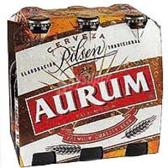 Cervezas Aurum Cerveza Pack 6x25 cl