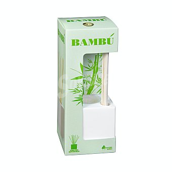 Bosque Verde Ambientador varitas difusoras bambu (blanco) U 40 ml