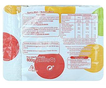 Auchan Galletas María Paquete de 800 g