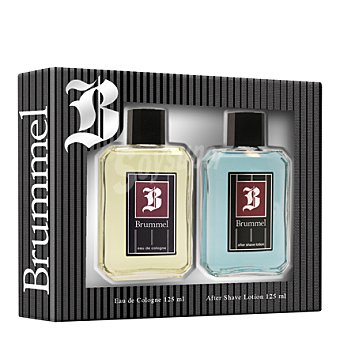 Brummel Estuche colonia 125 ml. + after shave lotion 125 ml.  1 ud