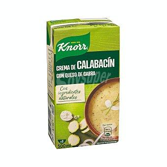 Knorr Crema de calabacín con queso de cabra 500 ml