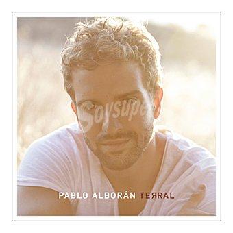"""Pablo Alborán """"terral"""" CD + DVD + Libro 1 ud"""