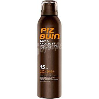 Piz buin Tan & Protect SPF 15 protección en spray solar intensificadora 150 ml 150 ml