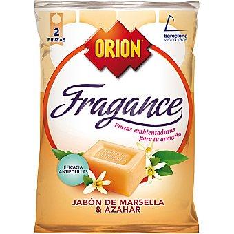 Orion Pinza antipolillas perfume flores blancas  Fragance Envase 2 unidades