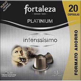 Fortaleza Café intensísimo Caja 20 monodosis
