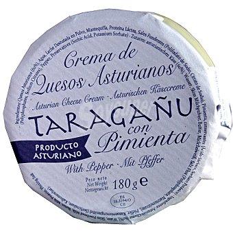 TARAGAÑU Crema de quesos Asturianos con pimienta Envase 180 g