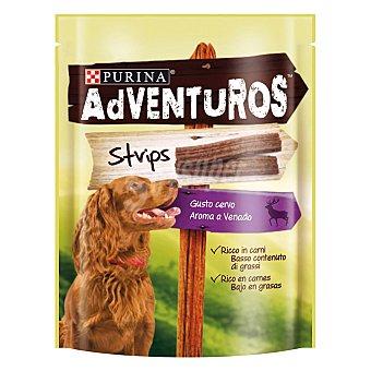 PURINA ADVENTUROS Strips de venado para perros Envase 90 g