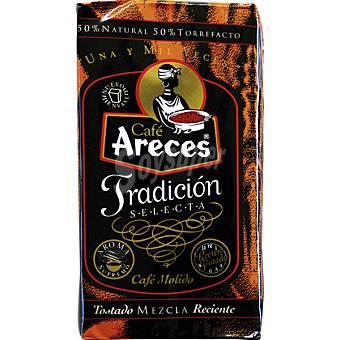ARECES Tradición Café molido mezcla 50-50 Paquete 250 g