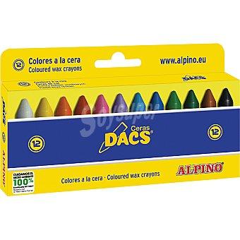 DACS Estcuhe con 12 ceras de colores