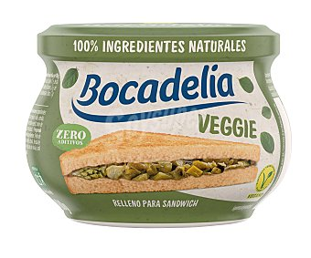 Bocadelia Relleno para sándwich vegetal veggie 180 g