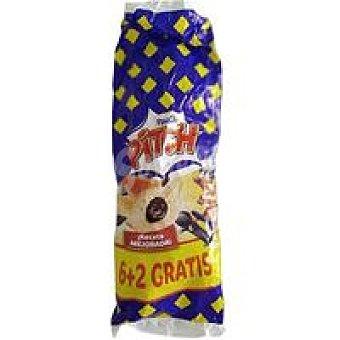 Pitch Bollo relleno de chocolate Paquete 330 g
