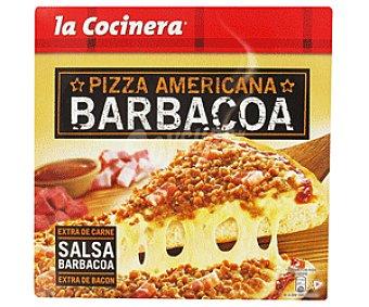 La Cocinera Pizza americana a la barbacoa Caja 470 g