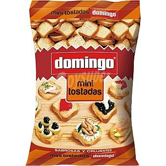 Domingo Mini tostadas sabrosas y crujientes bolsa 280 g Bolsa 280 g