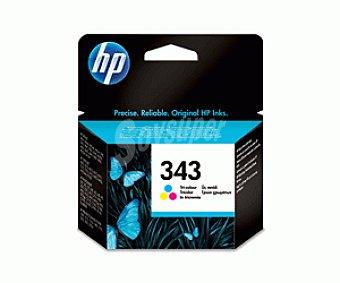 HP Cartuchos de Tinta 343 Color HP (C8766E) 1 Unidad- Compatible con: Impresoras HP Photosmart 8450, 8150, 2710, 2610, 375 y 325, impresoras HP Officejet 7410, 7310 y 6210, impresoras Todo en Uno HP PSC 2350, impresoras 1 Unidad