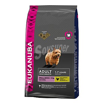 Eukanuba Pienso para perros adultos Mini Pollo 3 Kg