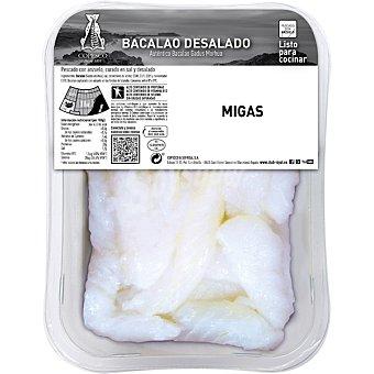 Royal Bacalao desalado desmigado peso aproximado Bandeja 450 g
