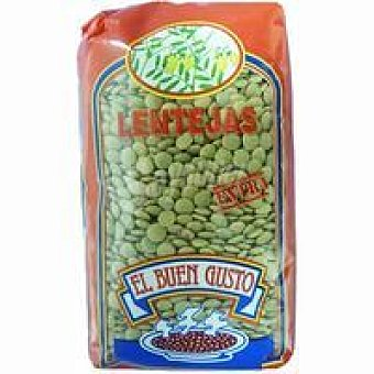 BUEN GUSTO Lenteja castellana extra Paquete 1 kg