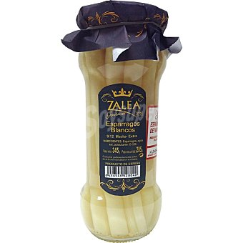 Zalea Gourmet espárragos blancos extra 8-12 piezas frasco 205 g neto escurrido Frasco 205 g neto escurrido