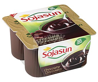 Sojasun Yogur plaisir chocolate Pack de 4x100 g
