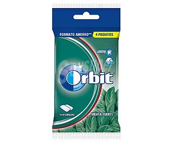 Orbit Chicle sabor menta fuerte Paquete 56 g (4x14)