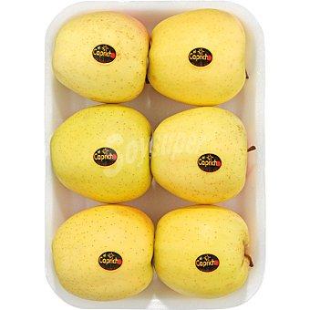 El Capricho Manzana golden  Bandeja 1,4 kg peso aproximado