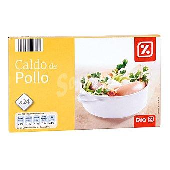 DIA Caldo de pollo Estuche 24 pastillas