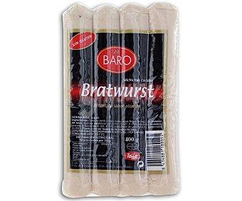 Baro Salchichas Bratwurst Naturales 400 Gramos