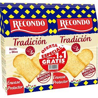 Recondo Pan tostado 30 rebanadas  Bolsa 540 g