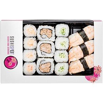 Sushispot Akemi box 18 piezas bandeja 300 g 18 bandeja 300 g
