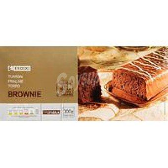 Eroski Turrón Brownie caja 300 g