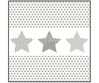 Actuel Servilletas desechables, estampado estrella, 33x33cm., doble capa, 50 unidades