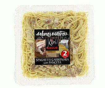 Gallo Spaguetti Carbonara con Panceta Sabores Nuestros 600g