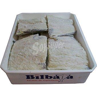 Bilbasa Bacalao salado en tacos (colas con espina)