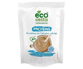 Ecocesta Superalimento Proteínas de cañamo y arroz bio 175 g