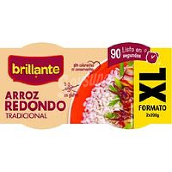 XL BRILLANTE Vasitos de arroz redondo Pack 2x200 g